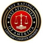 Rue Ratings - Best Attorneys of America - Lifetime Charter Member - logo and link