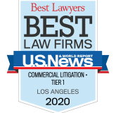 U.S. News & World Report - Best Lawyers - Best Law Firms - 2019 - logo and link