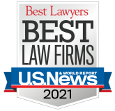 US News and World Report - Best Lawyers - Best Law Firms - 2019 - Logo and Link