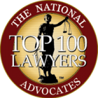 The National Advocates - Top 100 Lawyers - logo and link